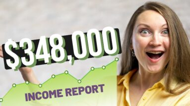5 Ways I Use to MAKE MONEY ONLINE - $348,000 Annual Income Report with all the Details