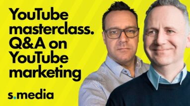 YouTube Marketing Tutorial and Help Masterclass - Q&A on YouTube marketing and YouTube SEO