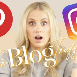 PINTEREST VS. INSTAGRAM - The Ultimate BLOG TRAFFIC Battle - How to Increase Organic Traffic in 2021