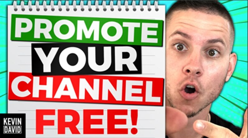 How to Promote Your New YouTube Channel and Get Subscribers FAST!