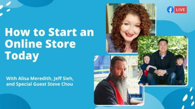 [LIVE] How to Start an Online Store Today