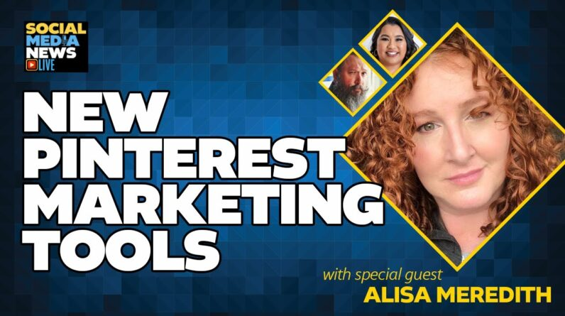 New Pinterest Marketing Tools