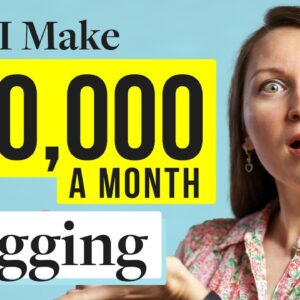 How To Start A Blog And Make Money in 2021  (I Make Over $30,000mo Blogging!)