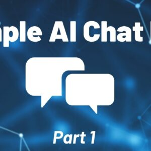 Python Chat Bot Tutorial - Chatbot with Deep Learning (Part 1)