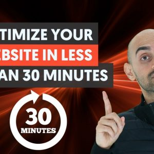 How to Optimize Your Website in Less Than 30 Minutes