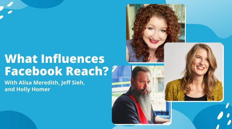 What Influences Facebook Reach?